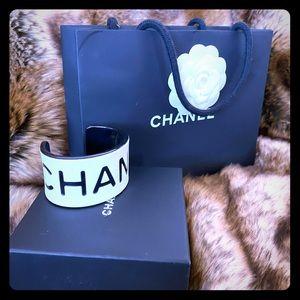 Vintage Chanel Lucite Cuff